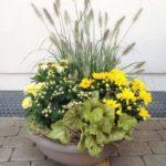 Trauer Beerdigung Gesteck gelb