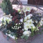 Trauer Beerdigung Gesteck für auf das Grab